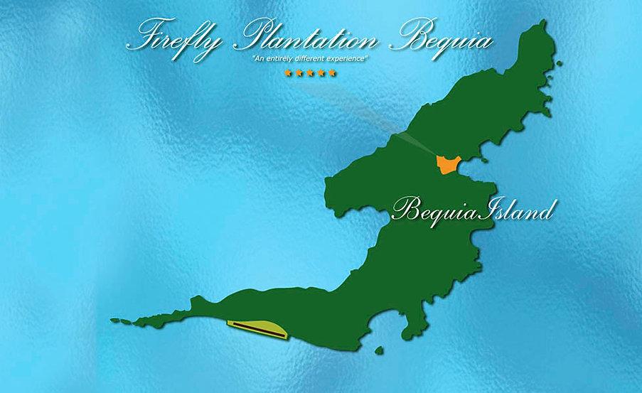 Bequia Island Map