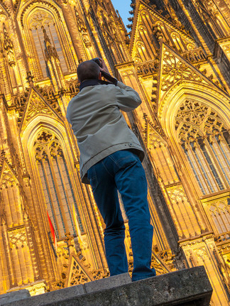 Tourist at the Dom