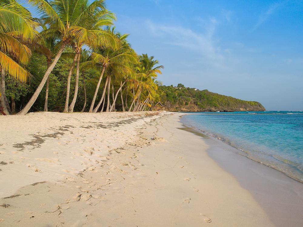 Lagoon Beach - Mustique