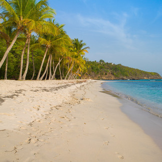 Lagoon Beach -Mustique