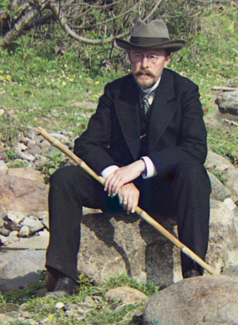 Self Portrait - Sergei Mikhailovich Prokudin-Gorskii