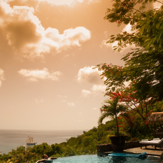 Firefly Mustique - Swimming Pool