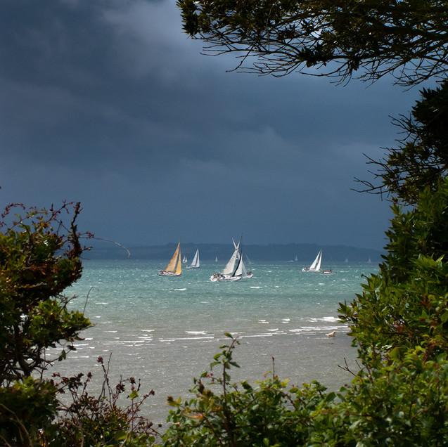 South coast regatta before the storm