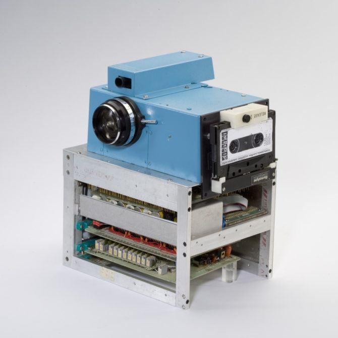"Kodak's first ""hand Held"" Digital Camera"