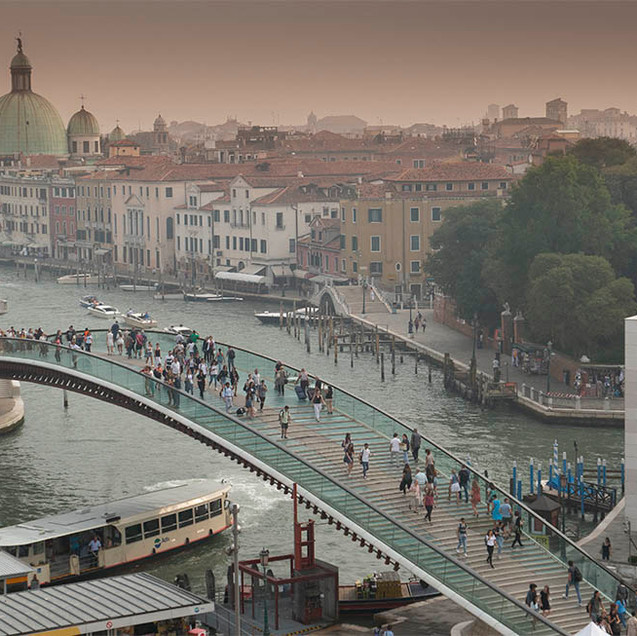 Glass Bridge to Venice