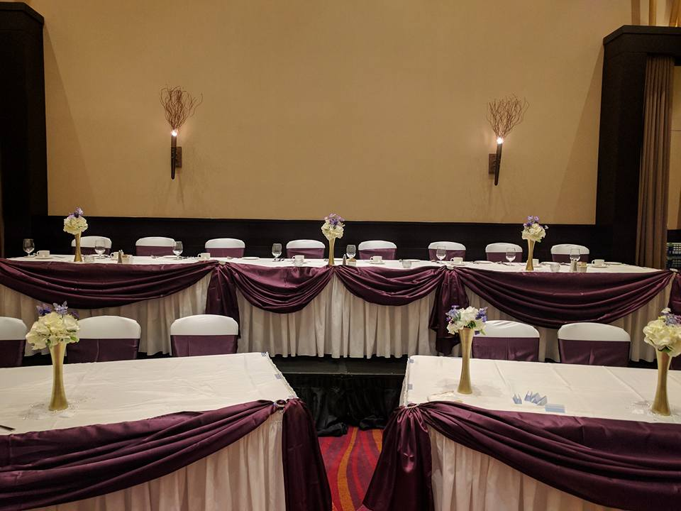 Casino Rama Wedding Decor