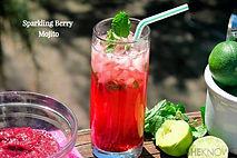 Sparkling Berry Mojito