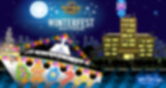 Winterfest Boat Parade Logo and Boat Graphic