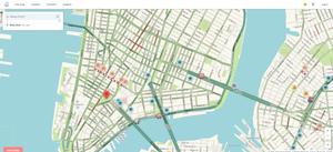 Image of WAZE Map