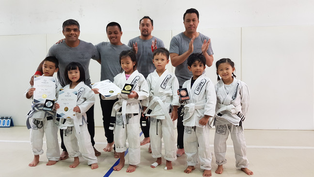 Singapore's toughest competitors battle it out during the TGA Internal Kids comp and Bi-Annual A