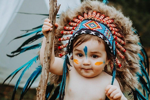 Baby Indian Headdress for 9-18 months