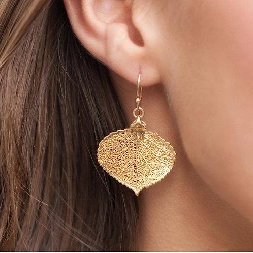 Aspen Leaf Earring