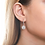 Thumbnail: Halo CZ Dangle Earrings