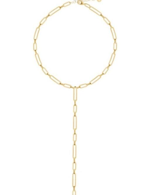 Link Lariat Necklace