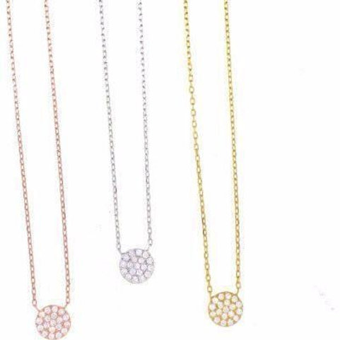 Small CZ Mirco Pave Necklace