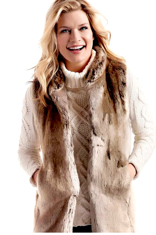 Timber-wolf Couture Vest