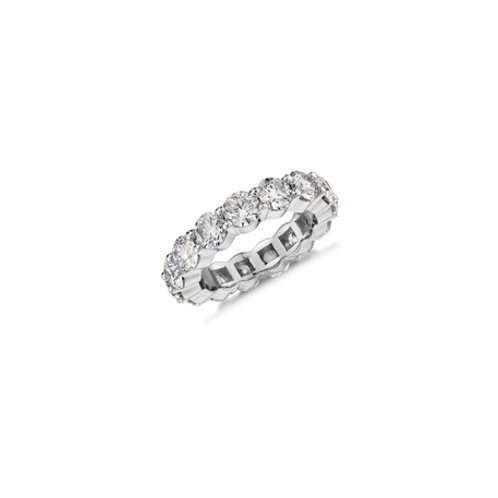 4 mm Prong Set in CZ Eternity Band