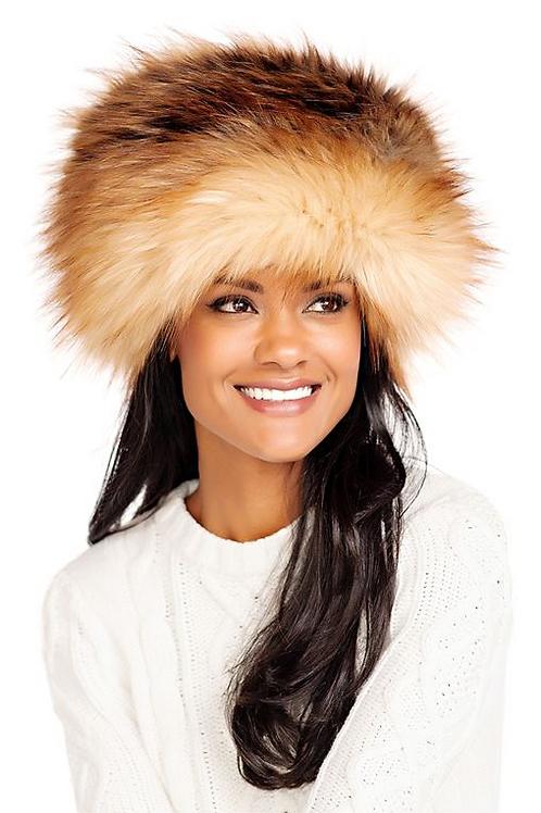 Faux Fur Red Fox Russian Hat