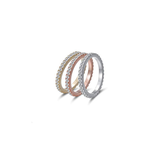 CZ Small Eternity Bands