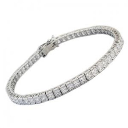 Channel Set Tennis Bracelet 2mm