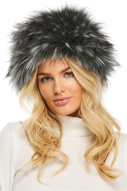 Faux Fur Smokey Fox Russian Hat