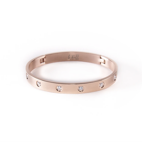 Eternity Bangle Rose Gold