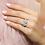 Thumbnail: Asscher Cut Travel Ring