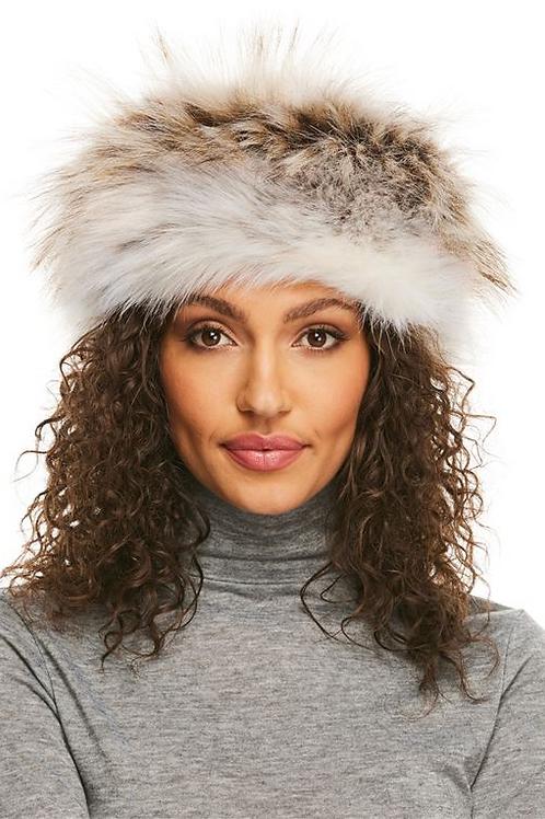 Faux Fur Tundra Wolf Russian Hat
