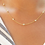 Thumbnail: Zircon by the Yard 10 Station Necklace