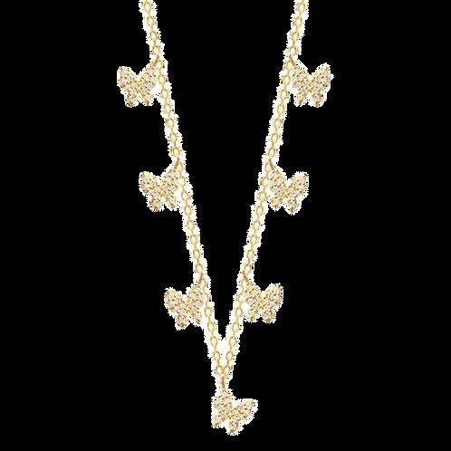 Kaleidoscope of Butterfly Necklace