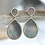 Thumbnail: Mother Of Pearl Teardrop Earrings