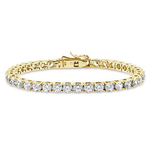 Prong Set CZ Tennis Bracelet