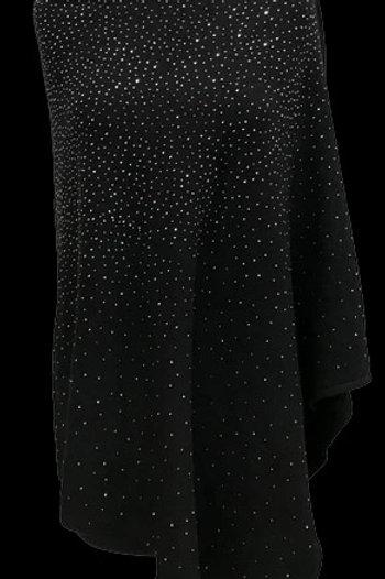 Embellished Poncho - Black