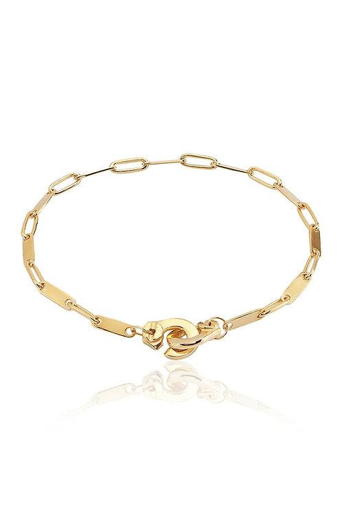 Link Handcuff Bracelet