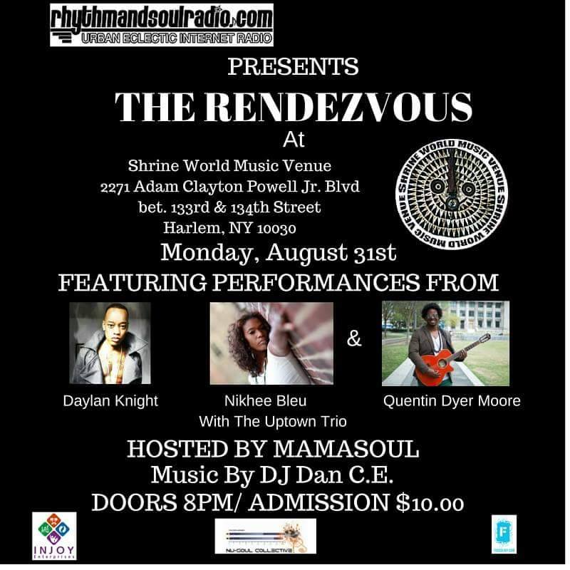 The Rendezvous event flyer