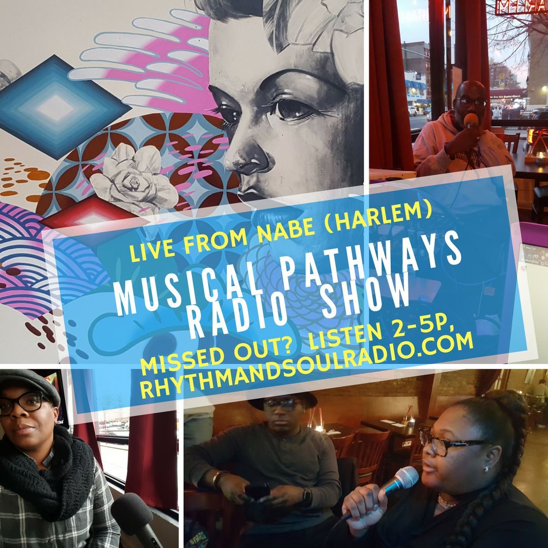 Musical Pathways Radio Show Flyer