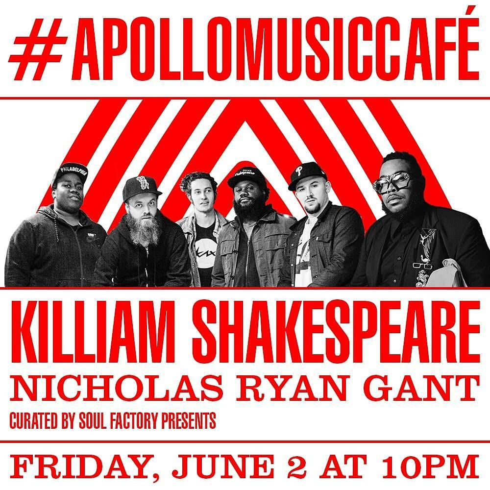 Apollo Music Cafe flyer