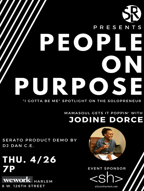People On Purpose event flyer