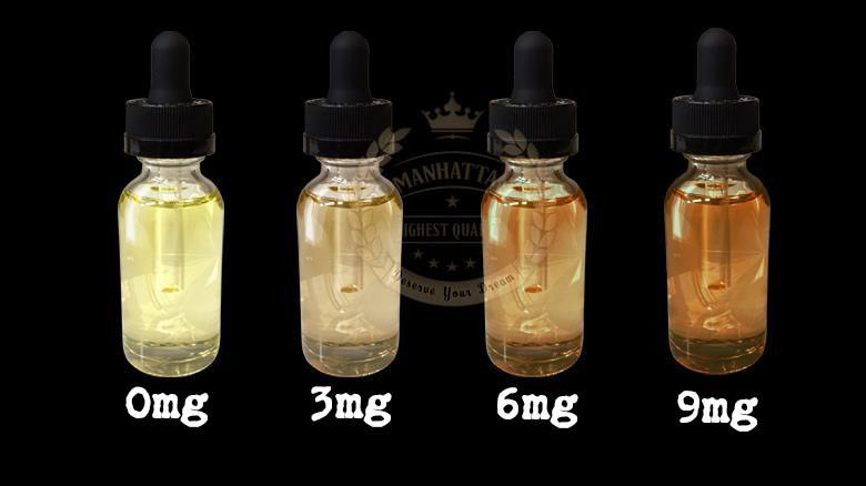 Nikotin oranına göre bir ay sonunda likitlerde gözlemlenen renk değişimi
