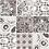 Thumbnail: Azule Marrone 100x100cm, 120 Stk.