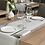Thumbnail: Tischläufer LOFT Grigio, 160 Stk. 48x120cm