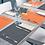 Thumbnail: Tischset MIA Arancione, 30x40cm, 600 Stk.