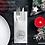 Thumbnail: NAPKO Merry Christmas Argento , Bestecktasche 32x40cm, 300 Stk.