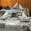 Thumbnail: Serviette Edelweiss Verde, 40x40cm, 600 Stk.