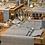 Thumbnail: Tischläufer Textum Antracite, 40x120cm, 160 Stk.