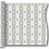 Thumbnail: Kuadra Argento, Rolle 120cm x 50mt