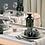Thumbnail: Tischläufer Chanel Tortora, 48x120cm, 160 Stk.