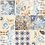Thumbnail: Azule Turchese, 100x100cm, 120 Stk.