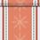 Thumbnail: Norway Rosso, Tischläufer 48x120cm