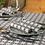 Thumbnail: Serviette Tirol Marrone, 40x40cm, 600 Stk.